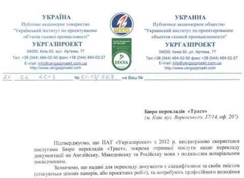 «УкрГазПроект»